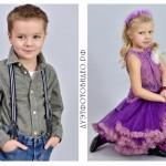 Съёмка детских портретов в садике
