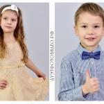 Съёмка портретов детей в садах и школах